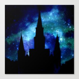 Religious Space : Galaxy Cathedral Canvas Print