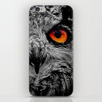 anaconda iPhone & iPod Skins featuring YOU'RE THE ORANGE OF MY EYES by Catspaws