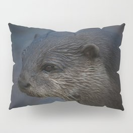 Small Clawed Otter Pillow Sham
