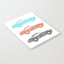 A Fast Sport Car Notebook