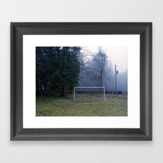 GOAL Framed Art Print