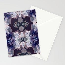 Big Fat Purple Pattern Stationery Cards