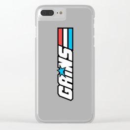 Gains Joe Clear iPhone Case