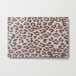 Background of animal print Metal Print