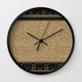 Flapper glamour Wall Clock