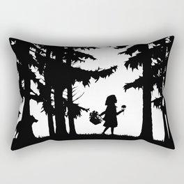 Little Red Riding Hood Rectangular Pillow