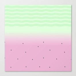 Watermelon Sugar Canvas Print