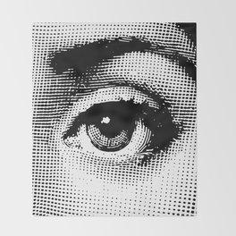 Lina Cavalieri Eye 02 Throw Blanket