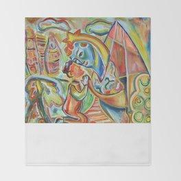 Sario Painter, Madre Throw Blanket