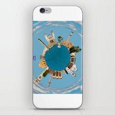 Rethymno little planet iPhone Skin