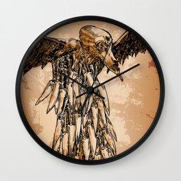 KNIFE VULTURE Wall Clock