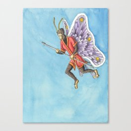 Butterfly King Canvas Print