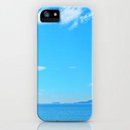 Perce Coast and Rock iPhone Case