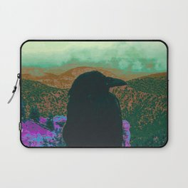 Crow and the Clouds and the Canyon Laptop Sleeve