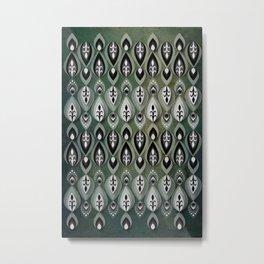 Pierrot II/Memoir Pattern Metal Print