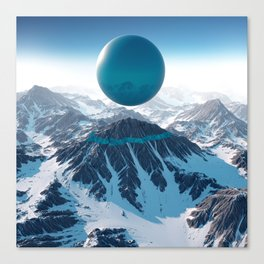 Alps Canvas Print