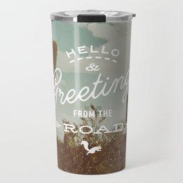 Greetings From The Road (cactus) Travel Mug