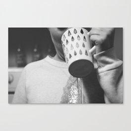 Coffee Spill Canvas Print