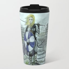 The Shieldmaiden Travel Mug