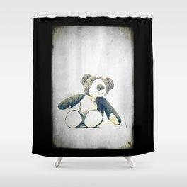 sitting teddy bear... Shower Curtain