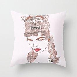 Animalia 1 Throw Pillow