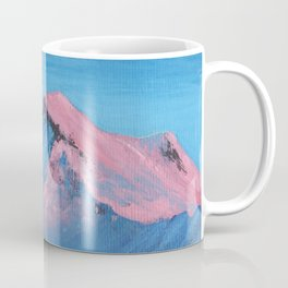 pink mountain tops Coffee Mug