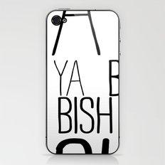 YA  BISH iPhone & iPod Skin