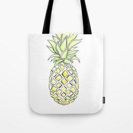 Pineapple Pop Tote Bag
