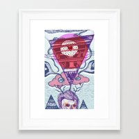 friday Framed Art Prints featuring Friday by Andon Georgiev