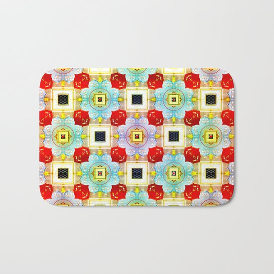 Embellecimiento Pattern Bath Mat