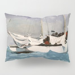 Key West Hauling Anchor 1903 By WinslowHomer | Reproduction Pillow Sham