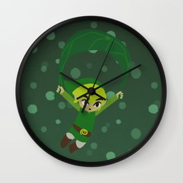Link and his Leaf Wall Clock