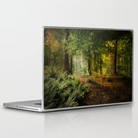 woodland Laptop & iPad Skins featuring Woodland by ZenzPhotography