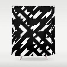 Shattered Hound Shower Curtain