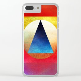 Suprematist Composition Clear iPhone Case