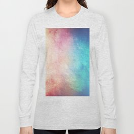 Fire and Ice - Watercolor Painting Long Sleeve T-shirt