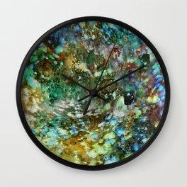 Space Garden Wall Clock
