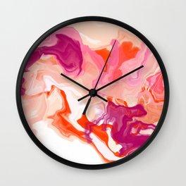 Pretty Ink Wall Clock
