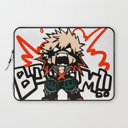 Katsuki Bakugo Booom My Hero Academia Laptop Sleeve