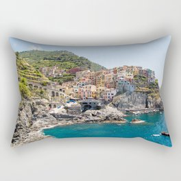 Manarola is one of the most beautiful islands of Cinque Terre Rectangular Pillow
