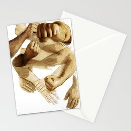 Fist of Sand Stationery Cards