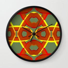 GREETINGS FROM MACHU PICCHU Wall Clock