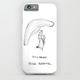 Tiny Hands iPhone Case