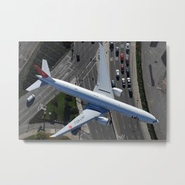 Top down over Sepulveda Metal Print