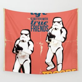 Troops Wall Tapestry