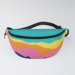 Over The Sunset Mountains III Fanny Pack
