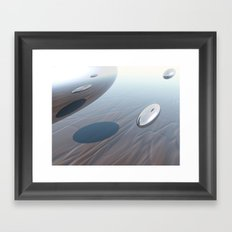 Escaping Area 51 Framed Art Print