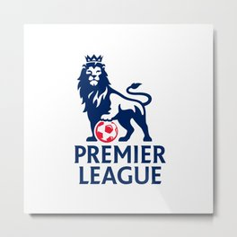 Premier League Logo Metal Print
