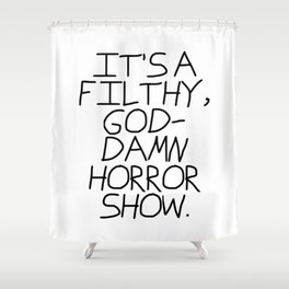 Mad World Shower Curtain