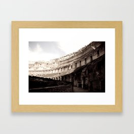 The Stomach of Ancient Rome Framed Art Print